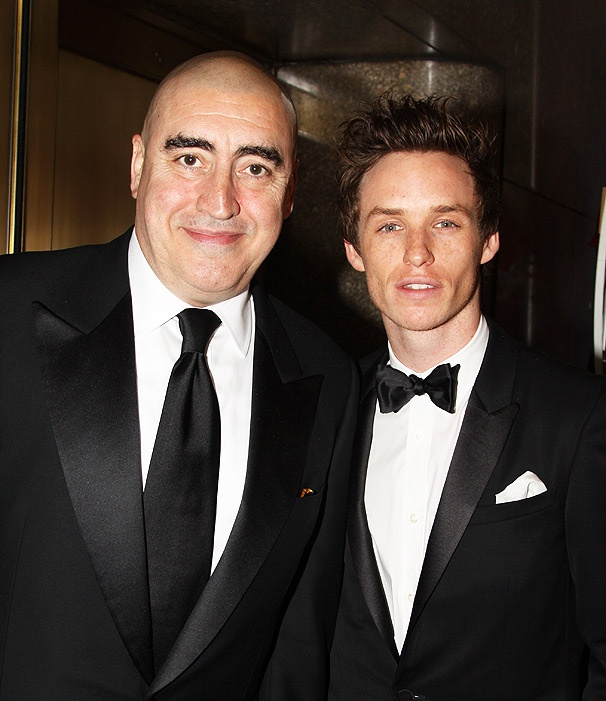 Alfred Molina and Eddie Redmayne Rock the Red Carpet