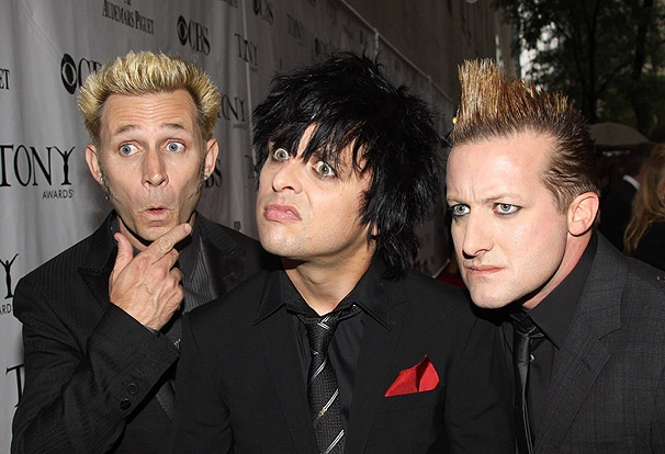 Greetings, Green Day! The Rockers Make the Scene at Their First Tonys