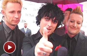 Red Carpet Extra: Green Day on the Relevance of Broadway