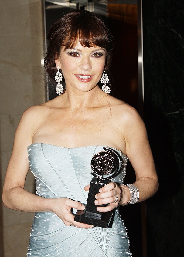 Hollywood Diva Catherine Zeta-Jones Wins a Tony for A Little Night Music