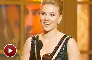 Tony Speech of the Night? Scarlett Johansson Hits All the Right Notes