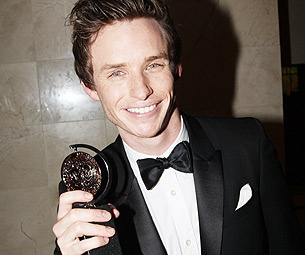 What's Up, Eddie Redmayne? The Red Star Feels Like 'An Excitable Child' After His Tony Win