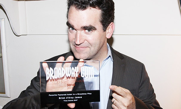 It's Time for Brian d'Arcy James to Thank Fans for His 2010 Audience Award