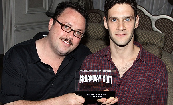Justin Bartha and Jay Klaitz Give Thanks for Lend Me a Tenor's Audience Award
