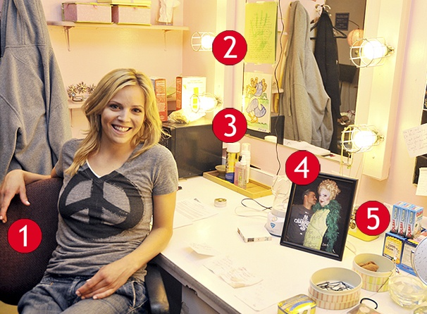 Fly Away with Katie Rose Clarke and her 'Popular' Dressing Room at Wicked