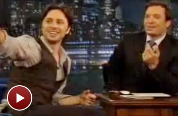 Sex, Shakespeare and Stickers: Zach Braff Talks Trust With Late Night's Jimmy Fallon