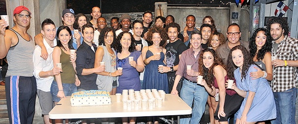 In the Heights Has the Perfect Reason for a Backstage Block Party: 1,000 Performances!