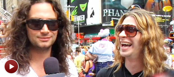 Exclusive! Joey Taranto Lands Role of a Lifetime in Rock of Ages... Live on Camera!