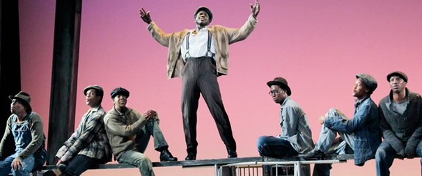 The Scottsboro Boys' Joshua Henry on His Busy Road to Leading Man