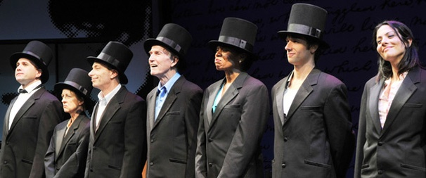 Abraham Lincoln's Big Gay Dance Party Takes Office Off-Broadway