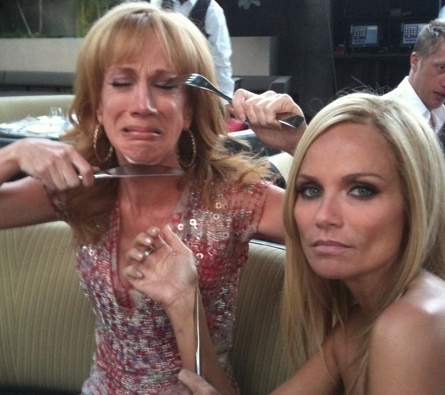 Kristin Chenoweth & Kathy Griffin (aka 'Chenoffin') Tweet Their Reaction to Emmy Losses