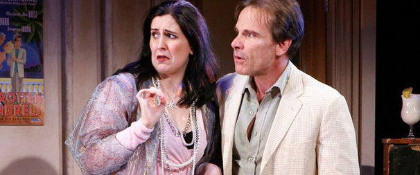Photo Sneak Peek at Peter Scolari & Co. in the New Off-Broadway Comedy It Must Be Him