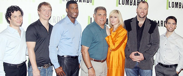 Dan Lauria, Judith Light and the Cast of Lombardi Make a Pre-Season Appearance