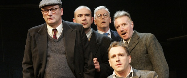 Pitmen at Work: A Photo Preview of Lee Hall's Acclaimed The Pitmen Painters