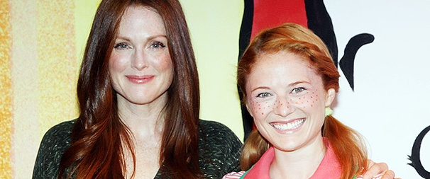 Julianne Moore Puts On Her Author Cap to Cheer the New Family Musical Freckleface Strawberry