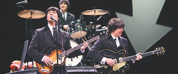 Beatles Tribute Rain Extends on Broadway