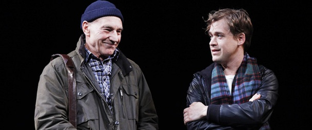 This Is the Life! Patrick Stewart and T.R. Knight Gear Up to Tackle Mamet