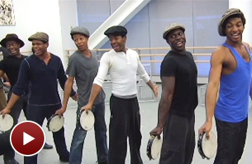Rehearsal Video: The Scottsboro Boys Say 'Hey, Hey, Hey, Hey' Before Their Broadway Debut