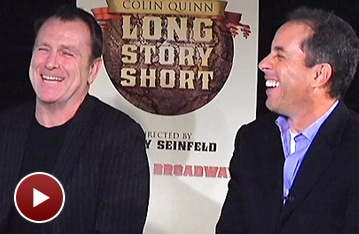 Jerry Seinfeld and Anderson Cooper Talk Long Story Short With Colin Quinn