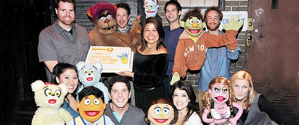 Happy Birthday to Avenue Q! The Musical Celebrates a Year Off-Broadway