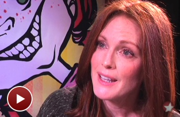 Meet Julianne Moore and Take a Spot-On Look at Freckleface Strawberry