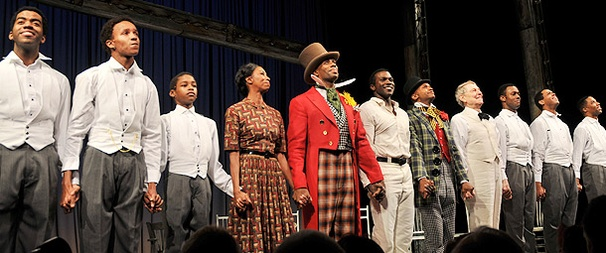 Let's Hear It for the Boys! The Cast of The Scottsboro Boys Celebrates Opening Night