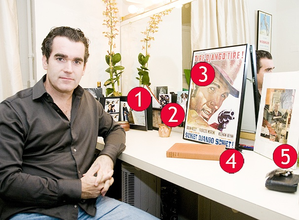 Time Stands Still Star Brian d'Arcy James Fills His Dressing Room with Cherished Gifts