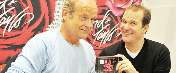 Kelsey Grammer & Douglas Hodge Take to the Makeup Counter to Sign La Cage CDs
