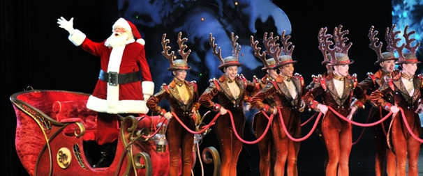 Santa, Stars and the Rockettes Welcome Audiences to the Radio City Christmas Spectacular