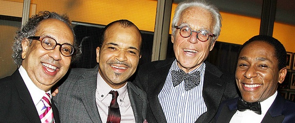 Cheers On Opening Night for John Guare's Vast and Vivid A Free Man of Color, Starring Jeffrey Wright
