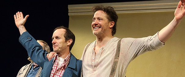 Brendan Fraser, Denis O'Hare and Jennifer Coolidge Bring the Laughs on Elling's Opening Night