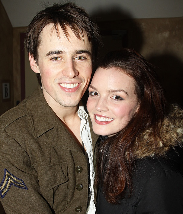 Spider-Man Stars Reeve Carney & Jennifer Damiano 'Really Excited' After First Broadway Performance