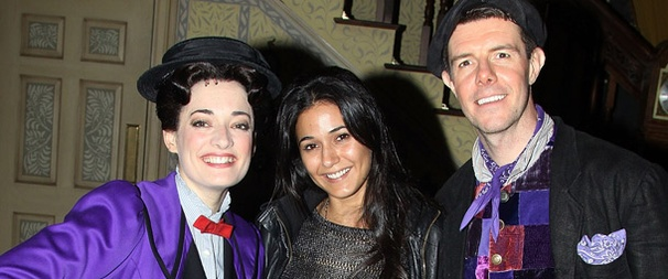 Entourage's Emmanuelle Chriqui Has a Jolly Holiday at Mary Poppins