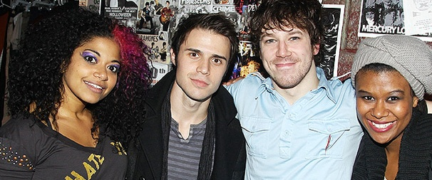 American Idol Winner Kris Allen Takes In the Rocking World of American Idiot