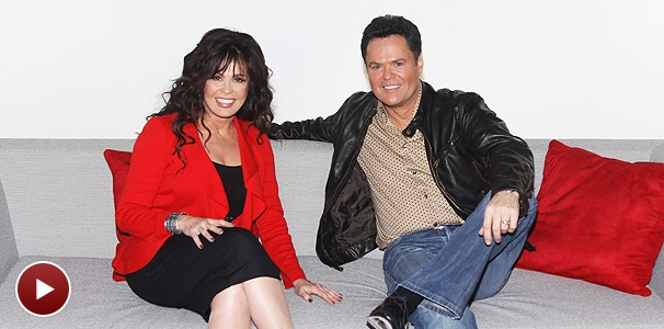 Super-Size Ask a Star! Broadway Christmas Stars Donny & Marie Answer Your Questions