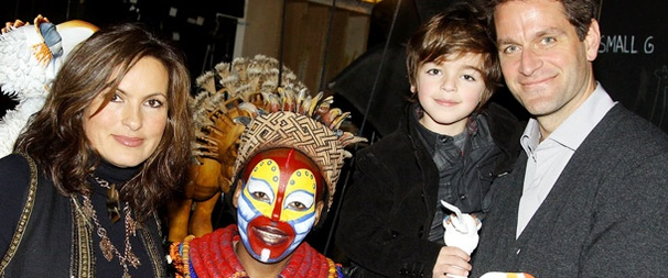 Mariska Hargitay & Family Feel the Love at The Lion King
