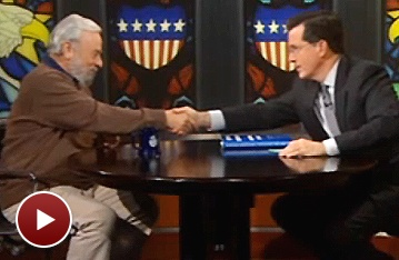 Where Are the Clowns? Sondheim Addresses That Burning Question on The Colbert Report