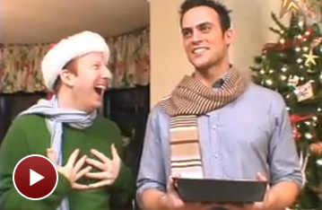 Broadway Holiday Flashback! Cheyenne Jackson and the Cast of [title of show] Ring in Christmas