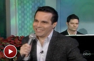 Broadway Holiday Flashback! Mario Cantone Channels Liza and Judy for a Family Christmas Duet