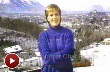 Broadway Christmas Flashback! Julie Andrews Sings The Sound of Christmas