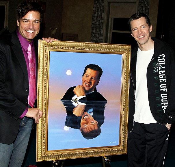 Promises, Promises Star Sean Hayes Unveils His 'Fame Wall' Portrait