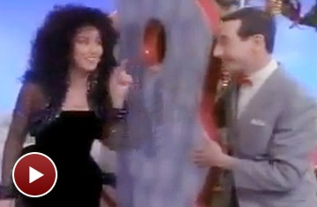 Broadway Holiday Flashback! Pee-wee Herman Celebrates Christmas With Cher, Charo and More