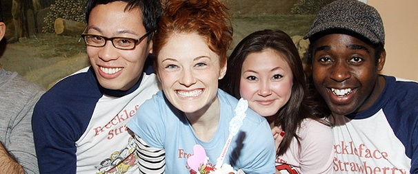 The Cast of Freckleface Strawberry Celebrates a New Sundae (and CD) at Serendipity 3