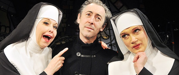Tony Winner Alan Cumming Cracks Up at the Convent of The Divine Sister