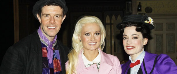 Holly Madison Takes a Peep at Broadway's Mary Poppins