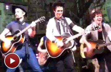 Green Day's Mike Dirnt Joins Billie Joe Armstrong in American Idiot