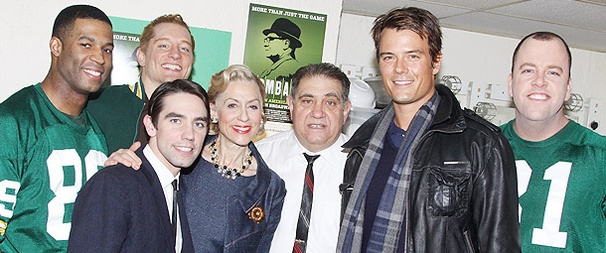 Josh Duhamel and Mad Men's Bryan Batt Cheer on the Cast of Lombardi