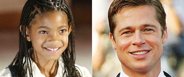 Willow Smith Wants Brad Pitt to Adopt Her in Annie Movie