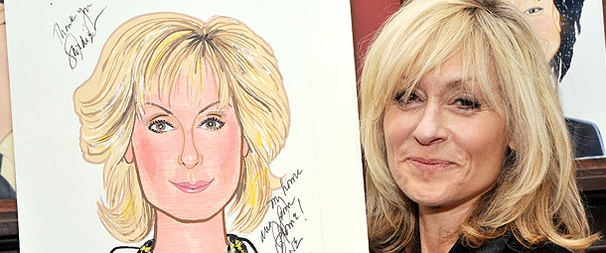 Score! Lombardi's Judith Light Lands Her Own Portrait at Sardi's 