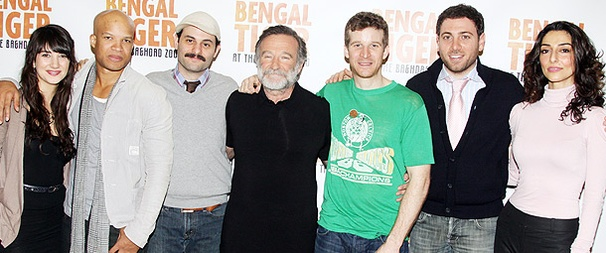 Get Wild With Robin Williams and the Cast of Bengal Tiger at the Baghdad Zoo